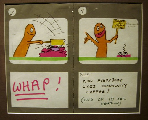 Community Coffee Storyboard