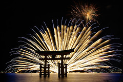 Miyajima Water Fireworks[Worldheritage] (h orihashi) Tags: japan night gate niceshot searchthebest pentax fireworks firework hiroshima miyajima harmony 日本 torii soe breathtaking shiningstar 風景 worldheritage nationalgeographic itsukushima musictomyeyes 花火 aphoto aclass 広島 夜 世界遺産 日本三景 supershot flickrsbest areyouready bej golddragon flickrsmileys mywinners abigfave royalgroup k10d pentaxk10d diamondheart platinumphoto anawesomeshot colorphotoaward impressedbeauty flickrhearts ultimateshot flickraward diamondclassphotographer flickrdiamond citrit excellentphotographerawards heartawards theunforgettablepictures diamondstars overtheexcellence colourartaward betterthangood justpentax everydayissunday theperfectphotographer goldstaraward flickrestrellas cherryontopphotography peaceawards spiritofphotography hatsukaichishi rubyphotographer damniwishidtakenthat photographersgonewild grouptripod colorphotoawardpremier mallmixstaraward shrine landscape