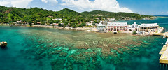 Isla Roatan - Bay Islands, Honduras (John in LA) Tags: cruise carnival blue coral island bay pier dock rainforest aqua honeymoon ship snorkel stitch dive honduras scuba exotic jungle tropical caribbean portfolio roatan reef polarizer legend westend airstrip bluechannel ptgui perfectpanoramas westbaybeach