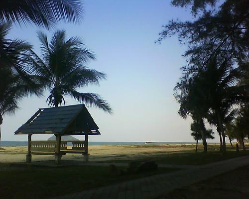 Pantai Air Tawar by A3MaNuL Na3M.