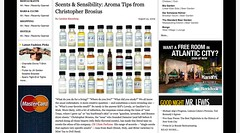 Aroma Tips from Christopher Brosius - BlackBook_1251421881318