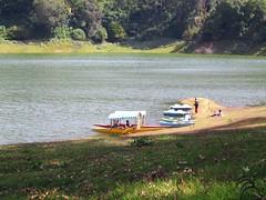 372. Lake Kundala, and the boats (profmpc) Tags: lake water forest boat ride dam reservoir munnar kundala