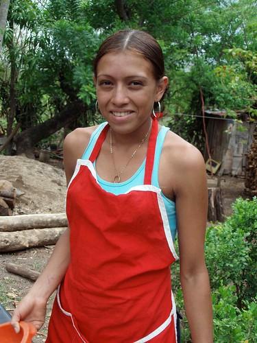 Pretty girl - Muchacha bonita cerca de Nandaime, Granada, Nicaragua