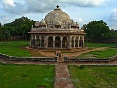 humayun tomb.. again (Basit Alvi Photography) Tags: new trees green architecture clouds delhi tomb basit humayun mughal alvi