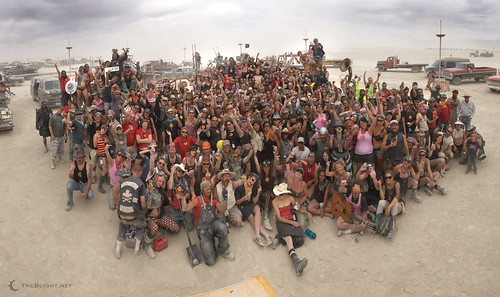 The DPW of Burning Man 2009 group photo