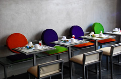 The Eating Area (Maya Lucchitta) Tags: paris france poemhotel apostrophehotel