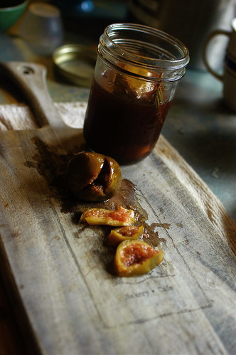 the pickled figs are ready
