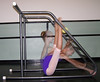 Sitting FrontBend (StretchGym) Tags: composite action stretch gym frontbend