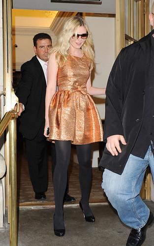 Kirsten Dunst / New York Fashion Week 2009