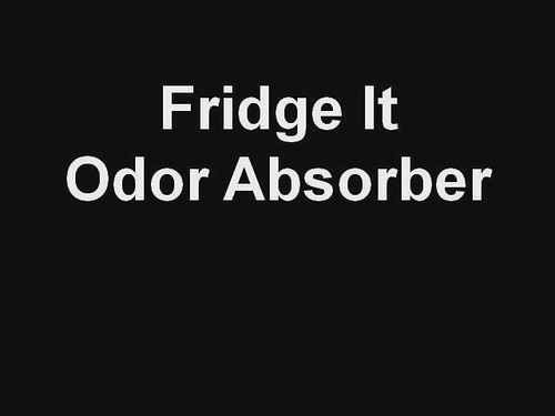 Fridge It Odor Absorber for Refrigerator odor.