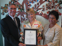 "Sylvia Jones, MPP offers congratulations to The Maples Independent Country School operators Brian and Philomena Logel on the school's 20th anniversary. • <a style=""font-size:0.8em;"" href=""http://www.flickr.com/photos/42650961@N04/3932478798/"" target=""_blank"">View on Flickr</a>"