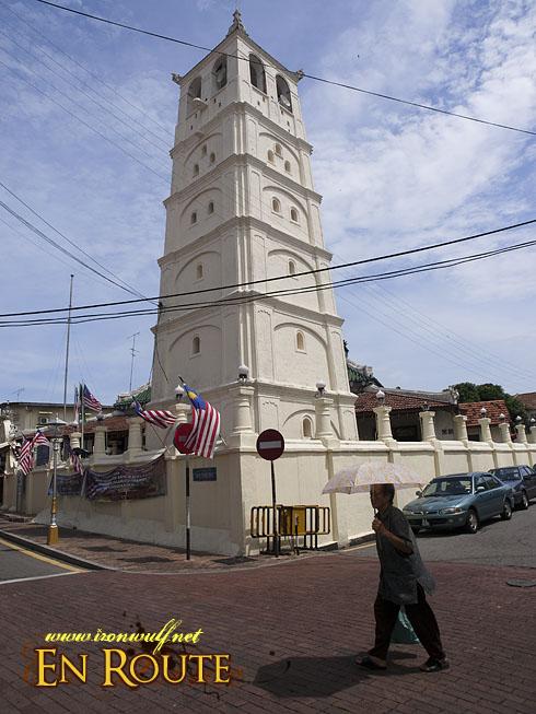 Kampung Kling's Mosque minaret