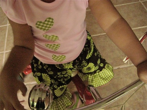 She designed her tee
