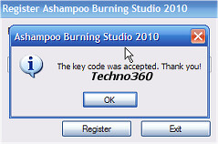ashampoo burning studio 9 with keygen and serial download free