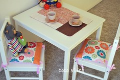 Children's seat pad, seat cushion (coco stitch) Tags: ikea children interior pillow seatcushion seatpad rileyblake