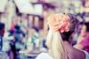 In full bloom. (Pink Pixel Photography (f.k.a. Sunny)) Tags: bokeh canonef50mmf18 crete streetshot blondegirl niftyfifty hbw hugeflower canoneos400d wwwpinkpixelat pinkpixelphotography chaniawassooonice youshouldsaythe500mwesawofchaniastarbucksandtheportwassooooonicethatcanonlyhappentousdrive300kmtoacitytoseethese3thingsrofl