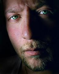 (digitalpsam) Tags: lighting portrait self eyes mood alone shadows gaze lebanese freedancephotographers sammatta