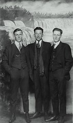 Businessmen in Niagara Falls (Brian Bowrin) Tags: 3 men vintage photo 1930s brian niagara falls photograph fav bought businessmen purchased bowrin