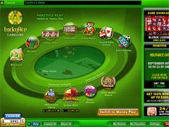 Lucky Ace Casino Lobby