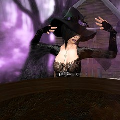 Wicked_EarthStones All Hallows Eve Flickr Photography Contest (Arcadia Nightfire) Tags: halloween fashion witch avatar jewelry sl secondlife cauldron witchy arcadia spookyforest arcadianightfire earthstones earthstonesallhallowseveflickrphotographycontest