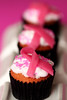 love and support .. given and passed on (Ghadeer Q) Tags: pink food blur macro canon dessert three october sweet cupcake kuwait breastcancer pinkribbon thinkpink nationalbreastcancerawarenessmonth canon100 ghadeerq pinkribbonsforawareness sentimentalfood loveandsupportgivenandpasseson