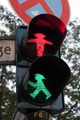 Ampelmnnchen double vision (maartmeester) Tags: red vacation holiday berlin green germany deutschland trafficlight vakantie groen weekend photomerge rood ampelmnnchen duitsland berlijn ampelmann stoplicht