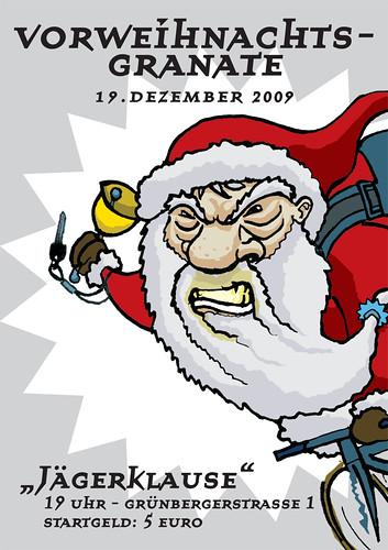 Vorweihnachtsgranate 2009