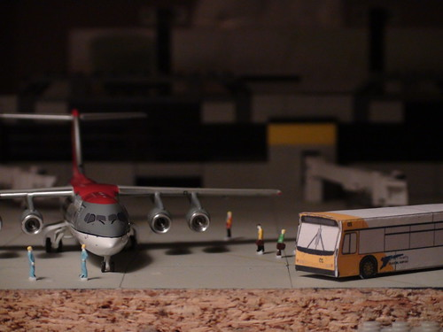 Mini Airport Diorama