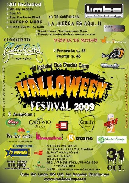 Halloween Festival 2009 - Chaclacayo
