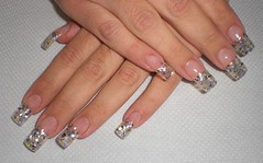 Uas decoradas (saludgl) Tags: glass hands nails transparent cristal gel fantasias nacre fantasies uas decoracin transparentes beautifulhands kylua ncar amnos manosbellas uasdecoradas nailsfantasies uasgel
