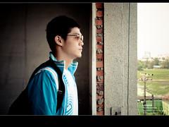 旅行 (Lonyice) Tags: boy man nikon taiwan 台中 d90
