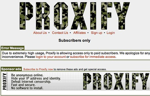 Subscribers only for Proxify
