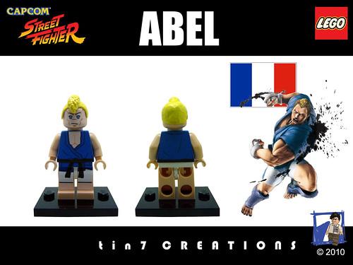 Custom minifig #17 - Abel