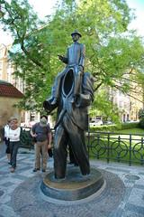 Franz Kafka monument