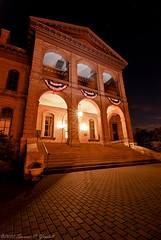 Stillwater Courthouse (Spencerwhy) Tags: lightpainting building minnesota night nikon tokina courthouse stillwater d80 1116mm