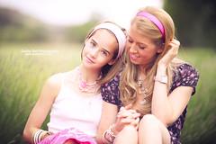 Summer Sisters - Day 278/365 (Sasha L'Estrange-Bell) Tags: summer portrait selfportrait spring sashabell oliviabell sashabellphotography tbsart