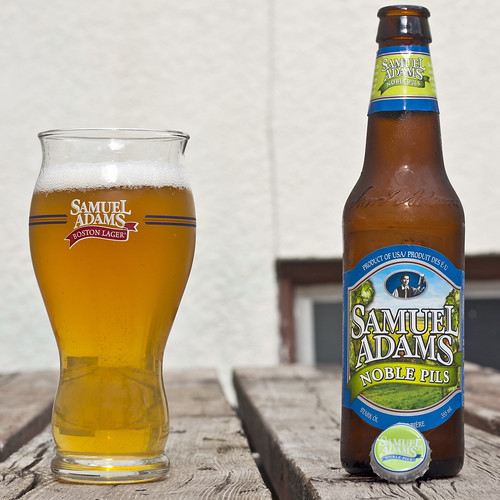 Samuel Adams Noble Pils by Cody La Bière
