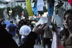 l'arbre dels desitgos / tree of wishes (nunipok) Tags: barcelona nikon bcn spanish revolution catalunya pla plaça maig acampada municipals 2011 d90 plaa elecions acampadabcn indignats