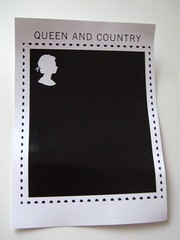 Queen and Country petition postcard