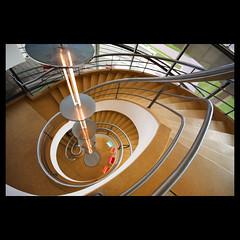 De La Warr 1 (mcginnly) Tags: architecture spiral explore staircase bexhill mendelsohn delawarrpavilion chemayeff