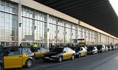 Taxis en el Aeropuerto de Barcelona por ReservasdeCoches.com
