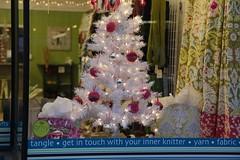 Tangle christmas display