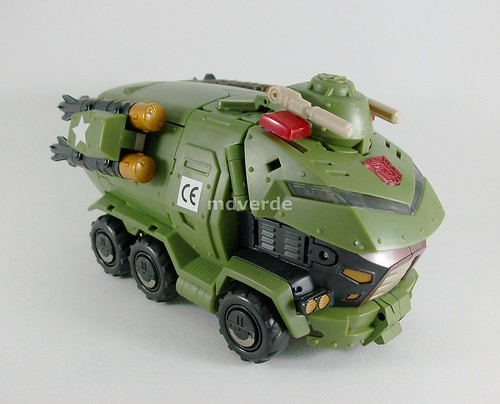 Transformers Bulkhead Animated Leader - modo alterno (by mdverde)