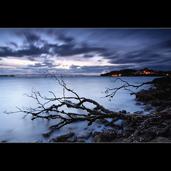 Blue Sunset (67Bosely) Tags: longexposure blue sunset newzealand auckland birkenhead northshore blueish