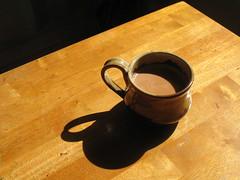 Masala chai................. (Subasri Pillai) Tags: shadow home mugs chai potterystudio