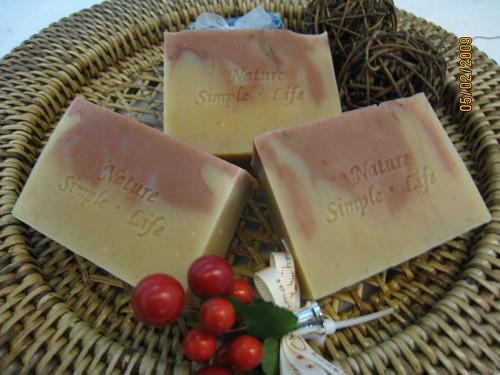 粉紅石粉皂