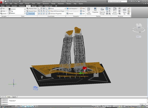 AutoCAD 2010 by you.