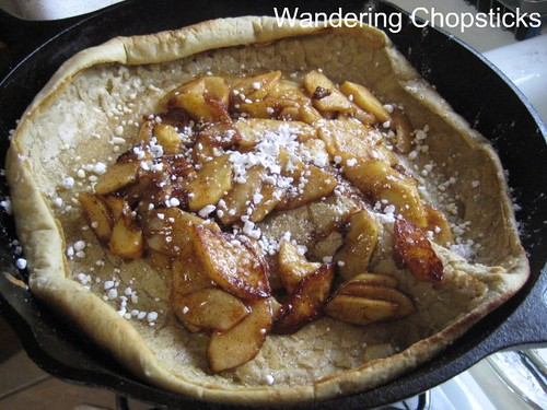 German oven pancake 1
