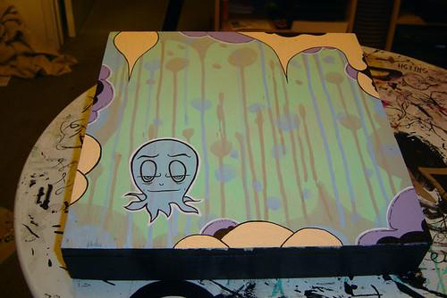 in progress octopus