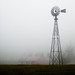 Windmill in the Fog by Steve G. Bisig